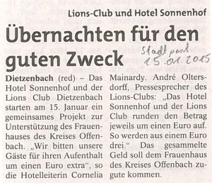 Stadtpost_15012015_schlafen_u_helfen